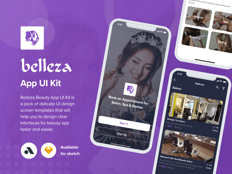 Belleza – Beauty Salon App