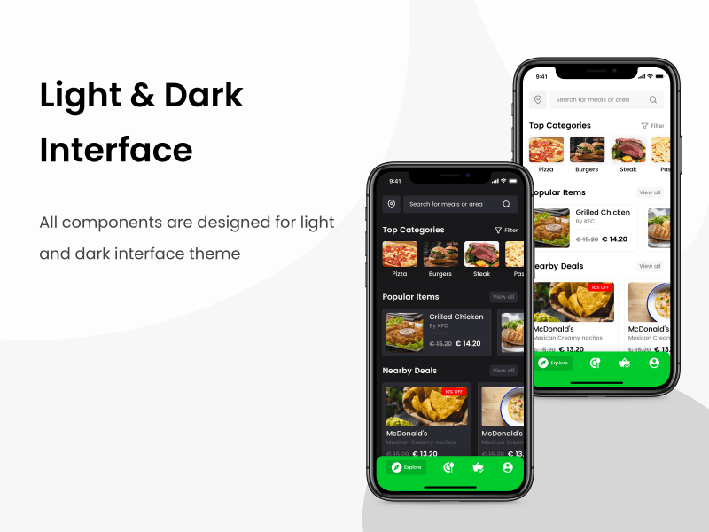 Comida – Food Ordering Mobile UI Kit