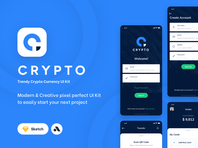 Crypto UI Kit