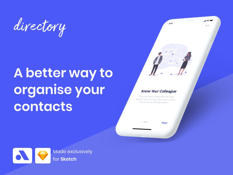 Directory iOS App UI Kit
