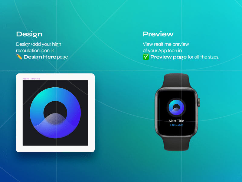 WatchOS Icon Template