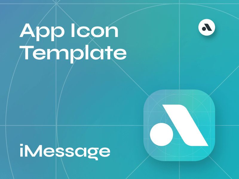 iMessage Icon Template