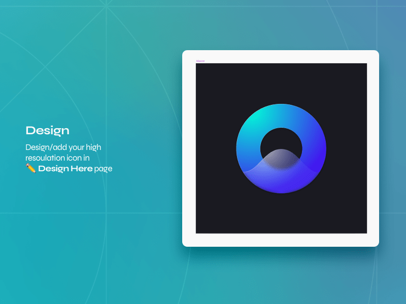 iMessage Icon Template