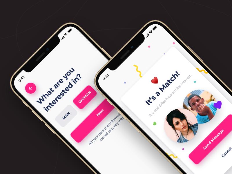 Brite Dating Mobile App UI Kit